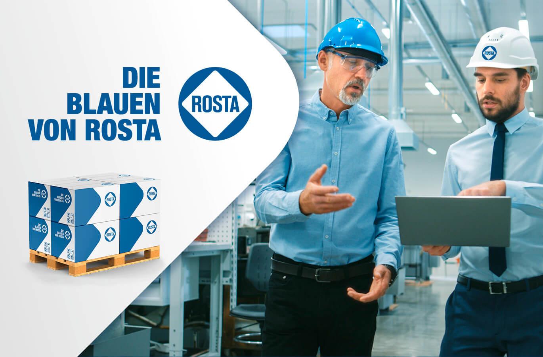 Rosta AG har valgt Tokerød Plus som digital partner på koncernens nye globale webløsning